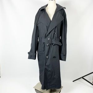 DSCP Garrison Trench Coat Military 42L Black